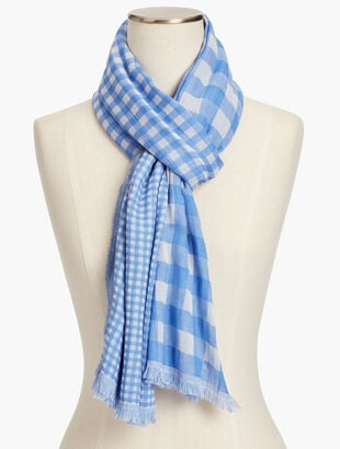 Patio Gingham Scarf