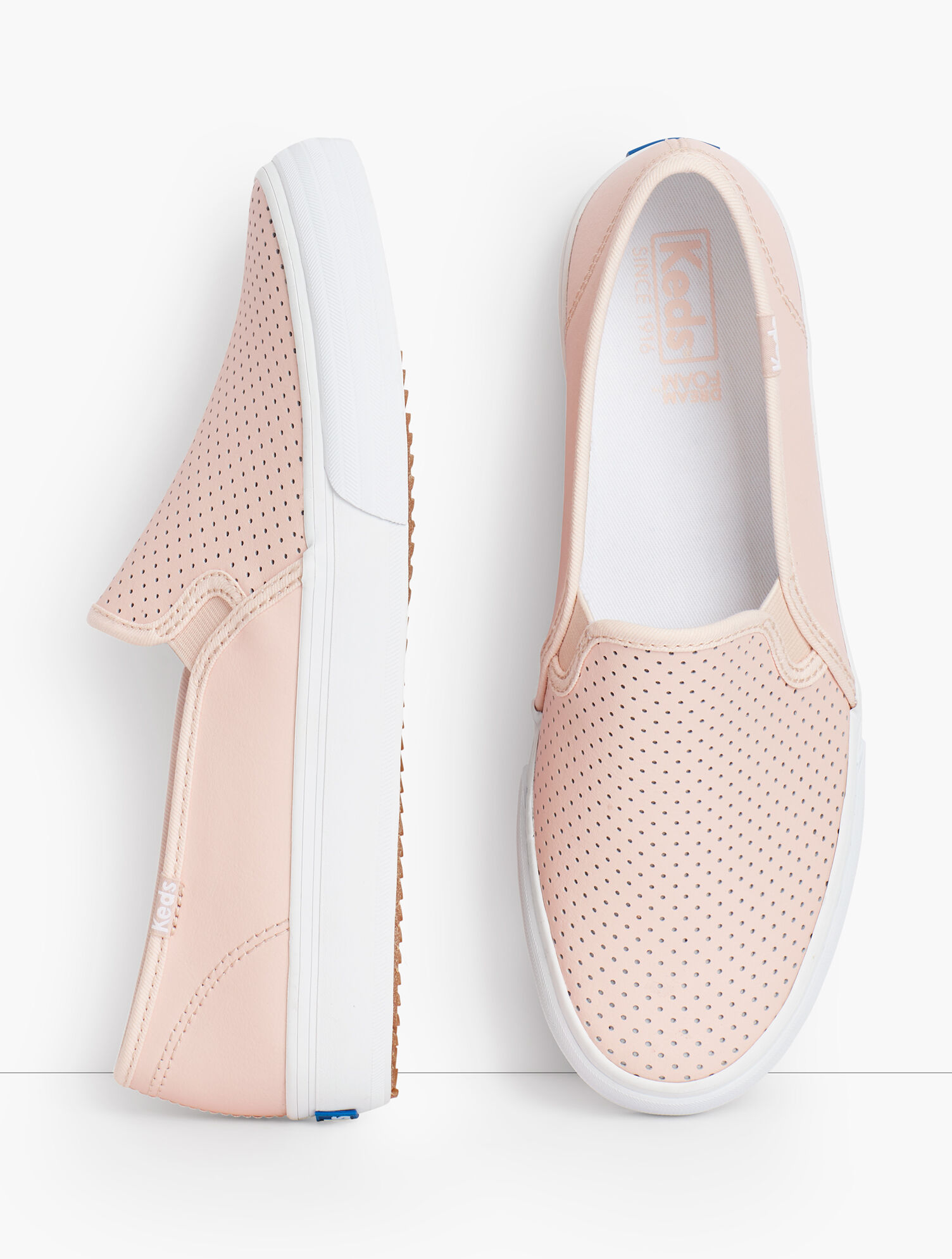 Keds® Double Decker Perforated Slip-On