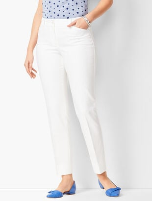 Talbots Hampshire Ankle Pants - Curvy Fit