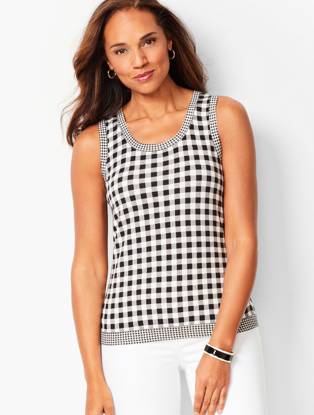 Charming Shell - Mixed Gingham