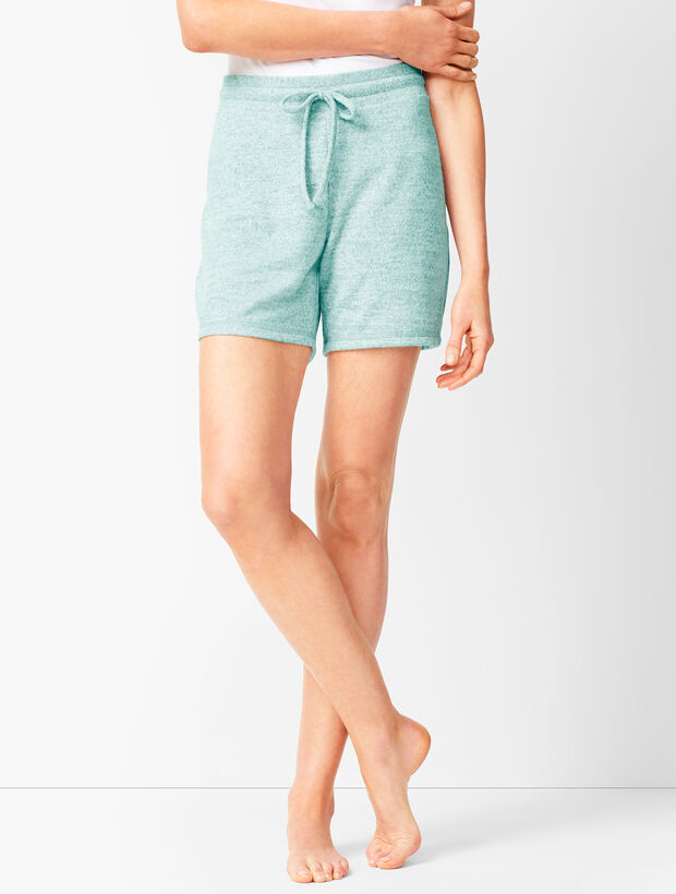 Brushed Mélange Shorts