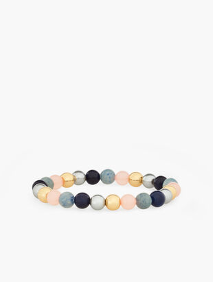 Semiprecious Stretch Bracelet