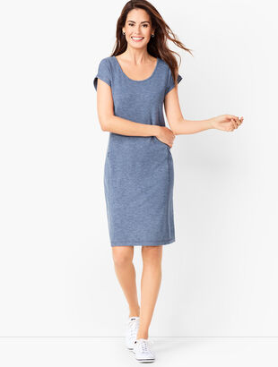 French Terry Dress - Solid