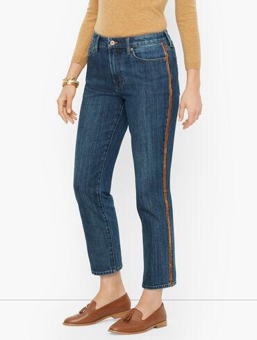 Modern Ankle Jeans - Moondust Wash