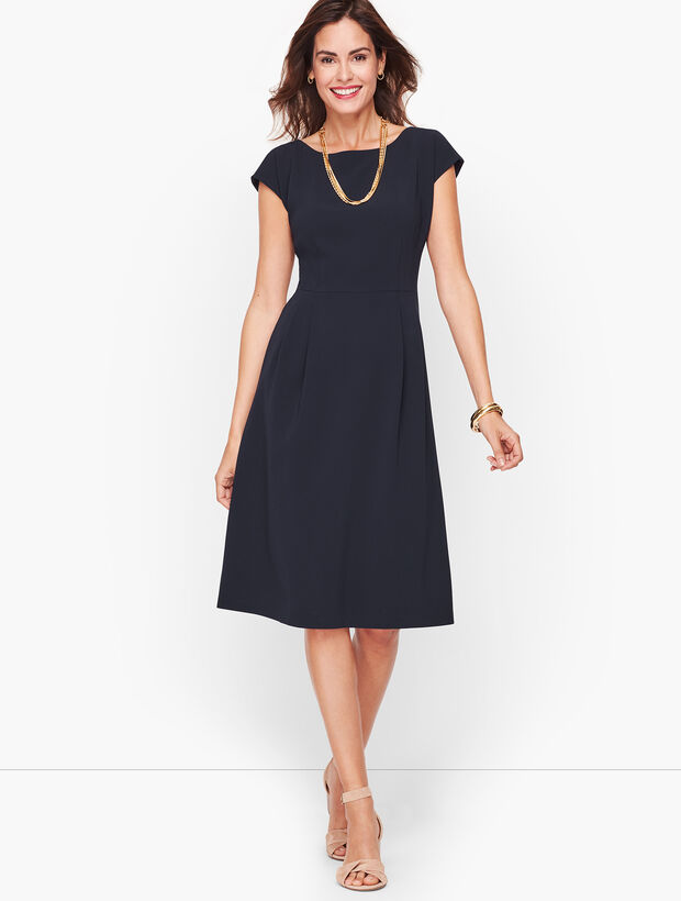 Easy Travel Fit & Flare Dress