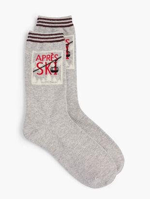 Après Ski Trouser Socks