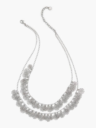 Filigree Double-Layer Necklace