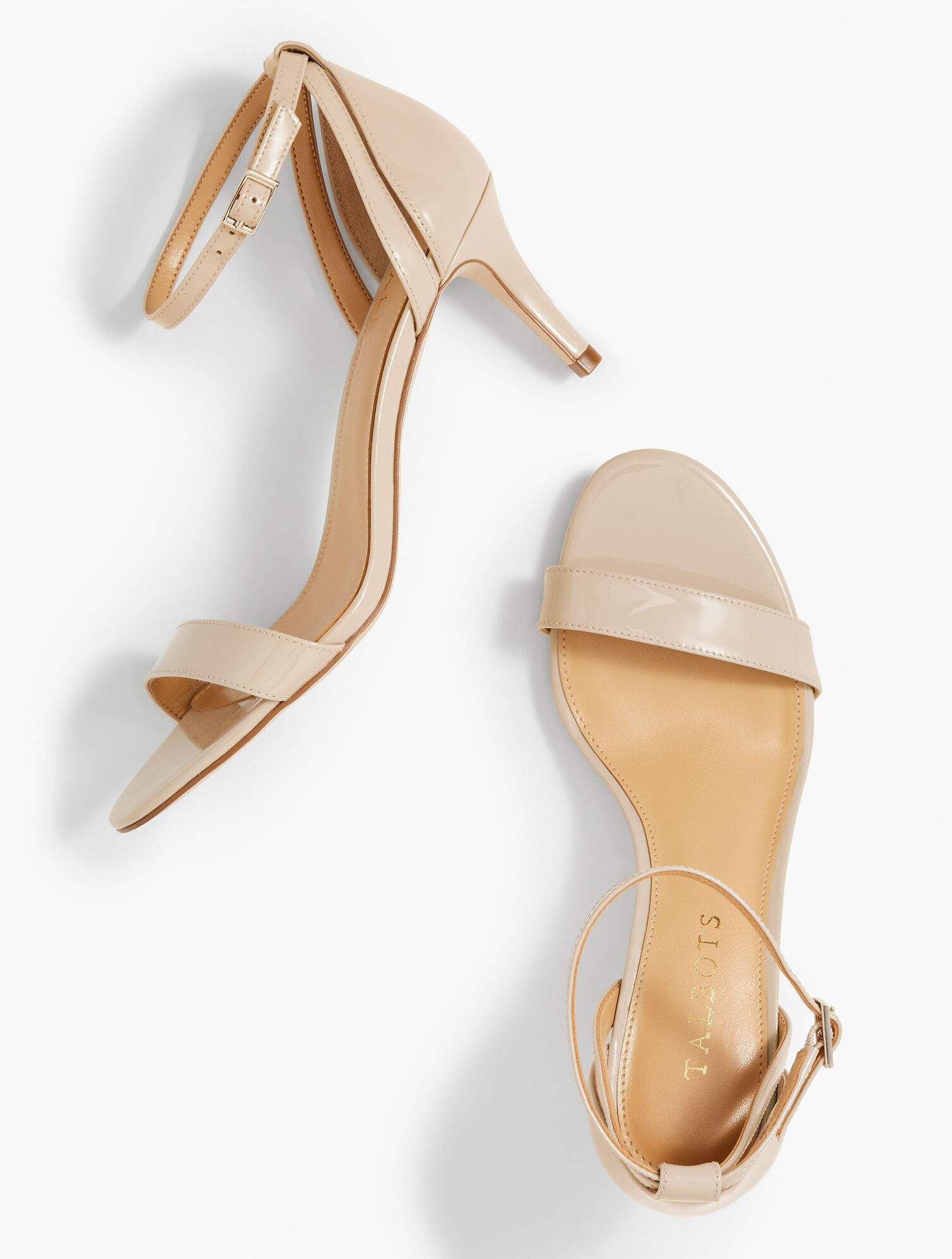 Rosalie Ankle-Strap Sandals - Patent