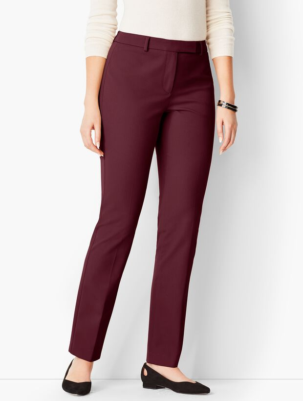 Bi-Stretch High-Waist Straight-Leg - Curvy Fit