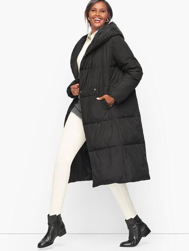 Long Down Alternative Puffer Coat