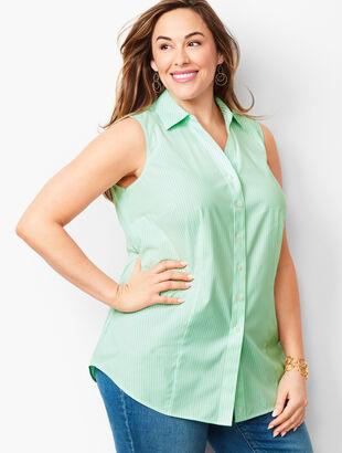 Perfect Shirt - Sleeveless - Pencil Stripe