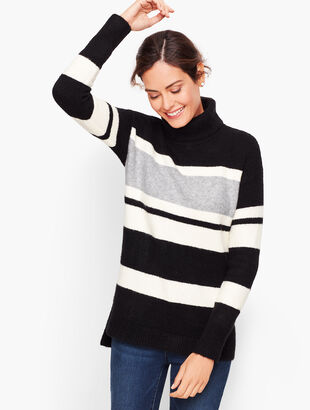 Fireside Stripe Turtleneck Sweater