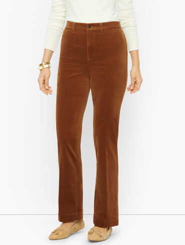 Stretch Corduroy Barely Boot Pants