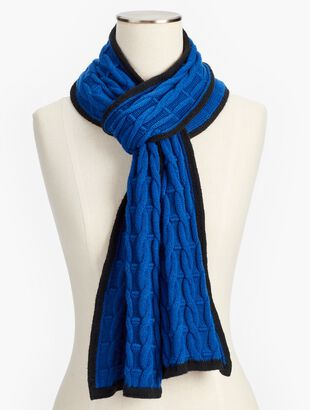 Soft Cable  Scarf