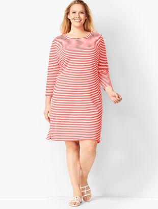 Stripe Terry Dress