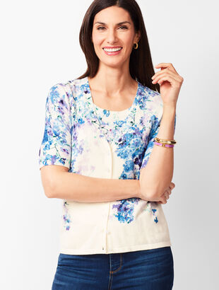 Kelly Cardigan - Floral