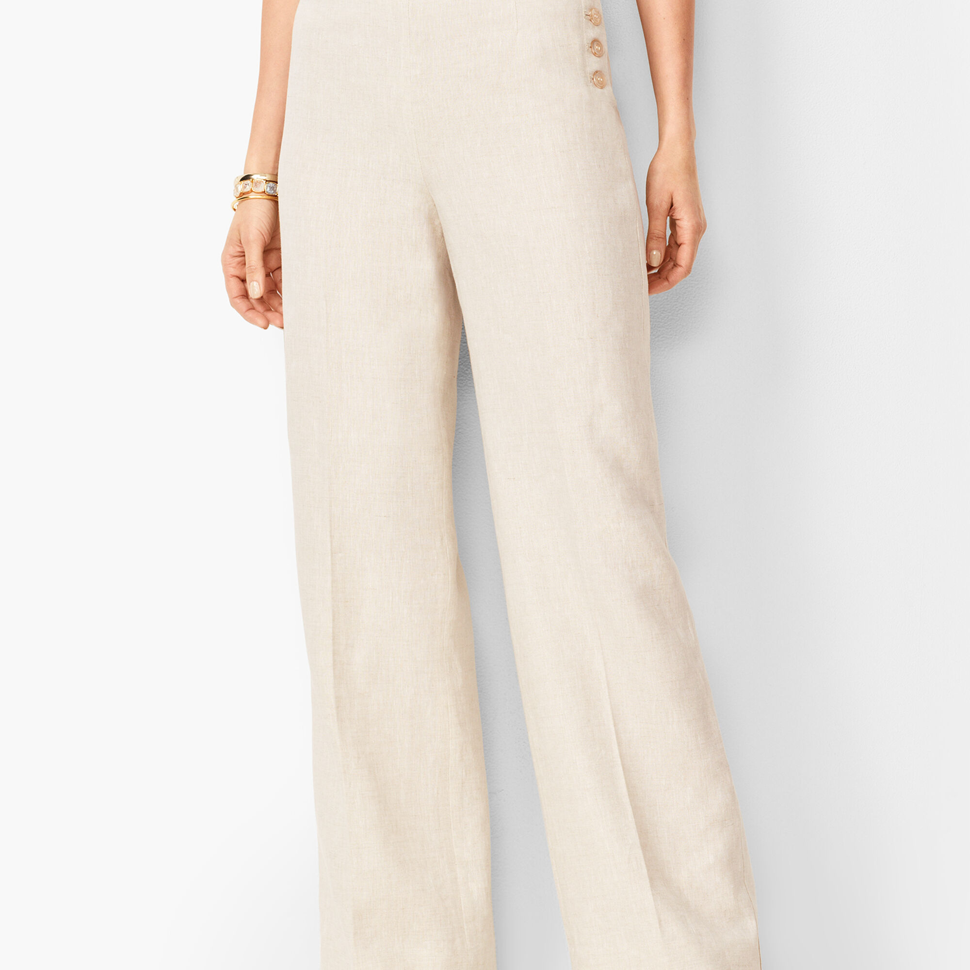 latest trends of 2019 cheap for sale clear and distinctive Linen Palazzo Pants | Talbots