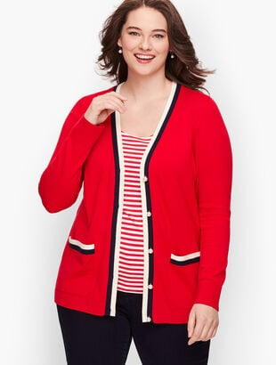 Supersoft Tipped Cardigan