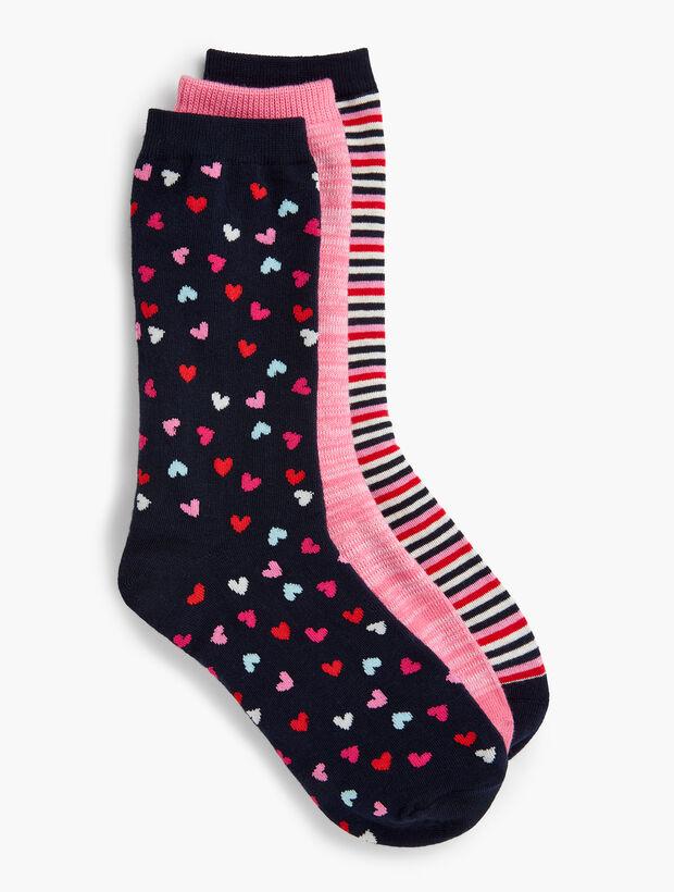 Three-Pair Trouser Sock Set