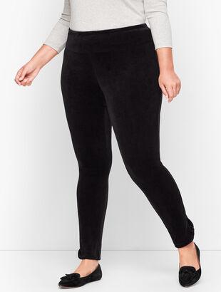 Lightweight Luxe Velour Leggings