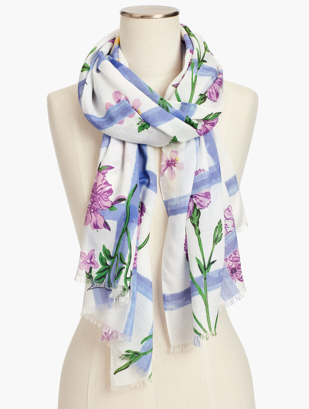 Sprouting Flowers Scarf