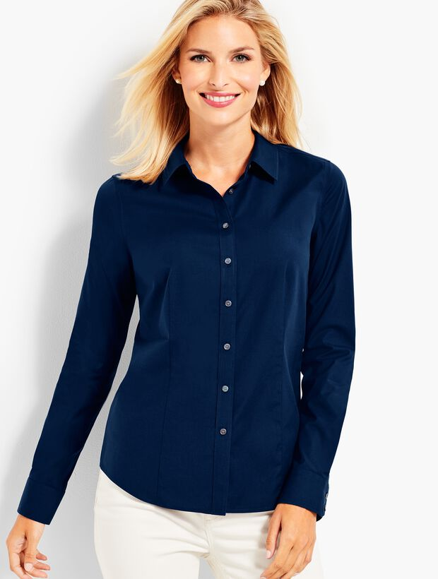 The Perfect Long-Sleeve Shirt