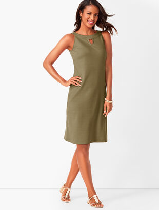 Cotton Audrey Shift Dress