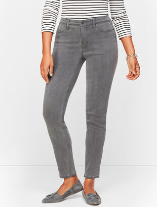 Slim Ankle Jeans - Cadet Grey - Curvy Fit