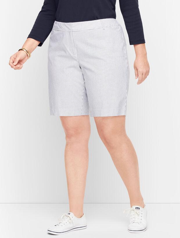 "Perfect Shorts 9"" - Railroad Stripe"