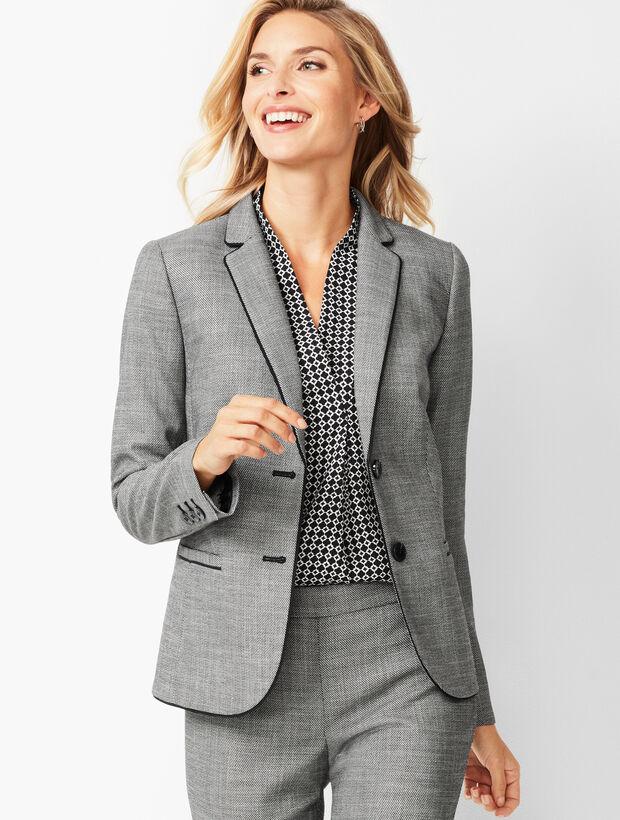 Westport Textured Two-Button Blazer