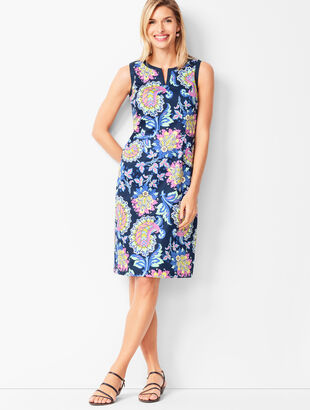 Paisley Shift Dress