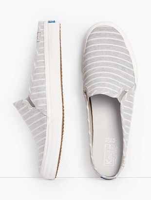 Keds® Double Decker Mule Sneakers - Stripe
