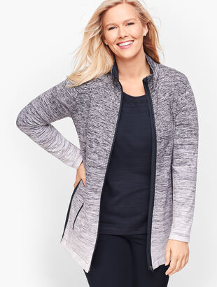 Ombre Stripe Jacket