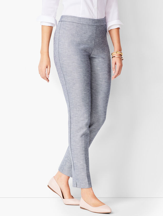 Talbots Chatham Ankle Pants - Curvy Fit - Sharkskin