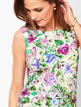 Floral Print Shell