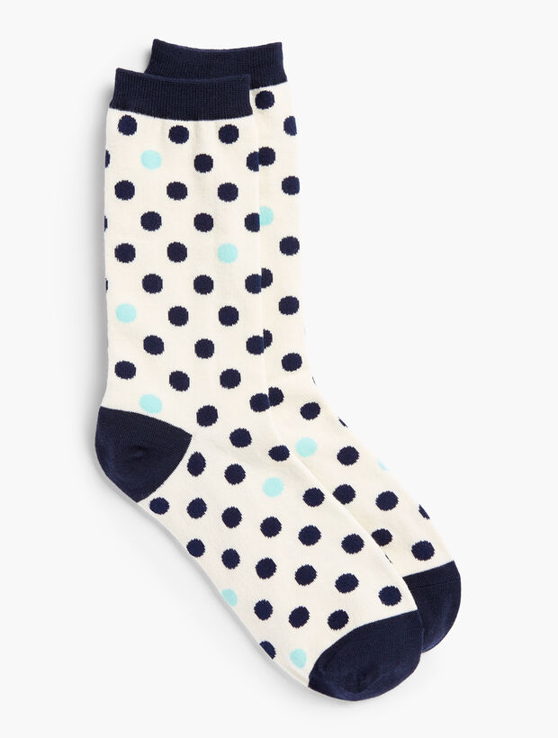 Dot Trouser Socks