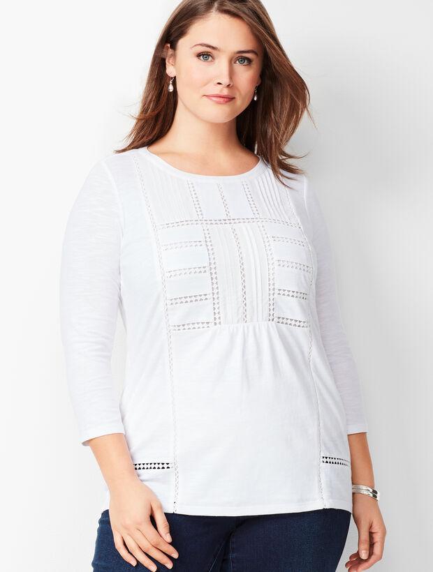 Plus Size Woven Tunic
