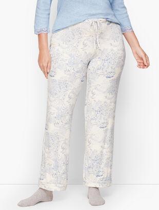 Jersey Sleep Pants - Toile Print