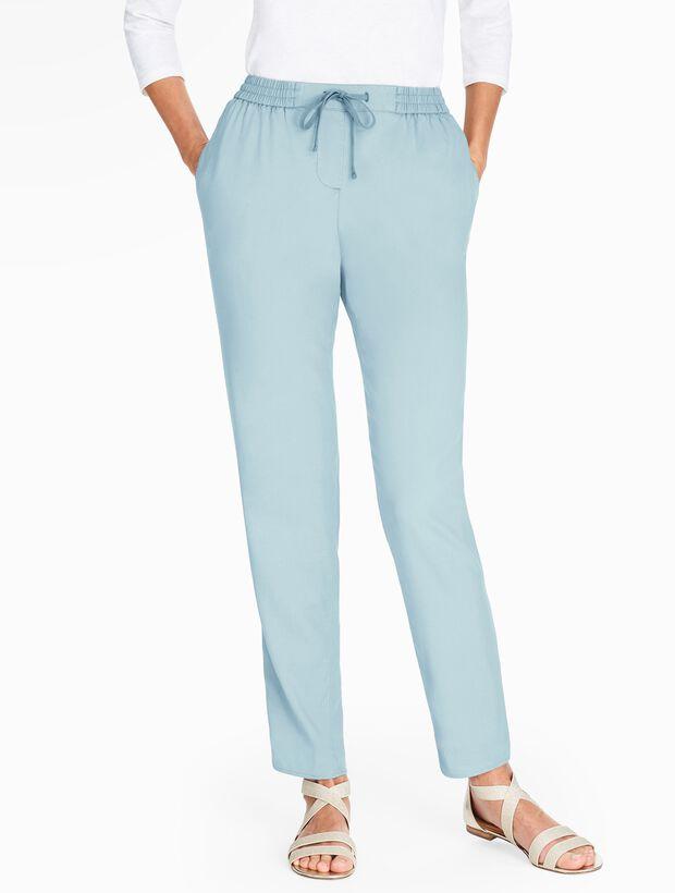 The Easy Drawstring Slim-Leg Pant