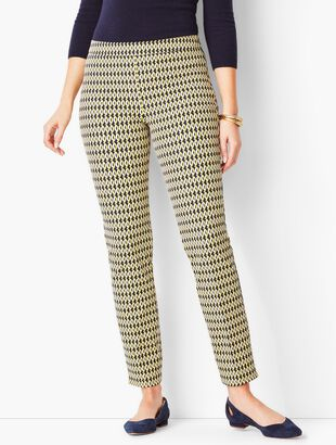 Talbots Chatham Ankle Pants - Curvy Fit/Abstract Oval