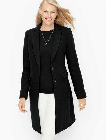 Albury Wool Blend Tailored Coat