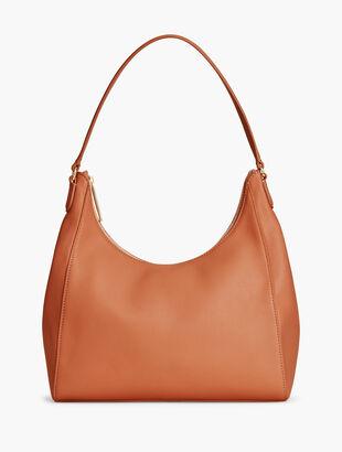 ea91083daf4 Pebbled Leather Hobo Shoulder Bag