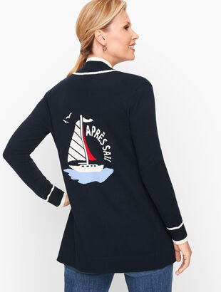 """Après Sail"" Open Sweater"