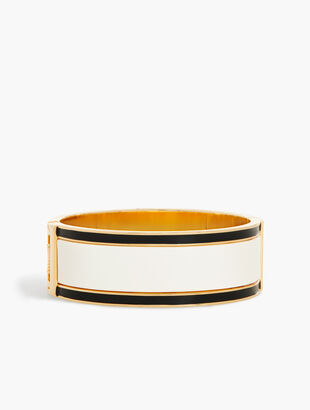 Oversize Stripe Bangle