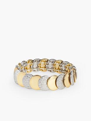 Mixed Texture Stretch Bracelet