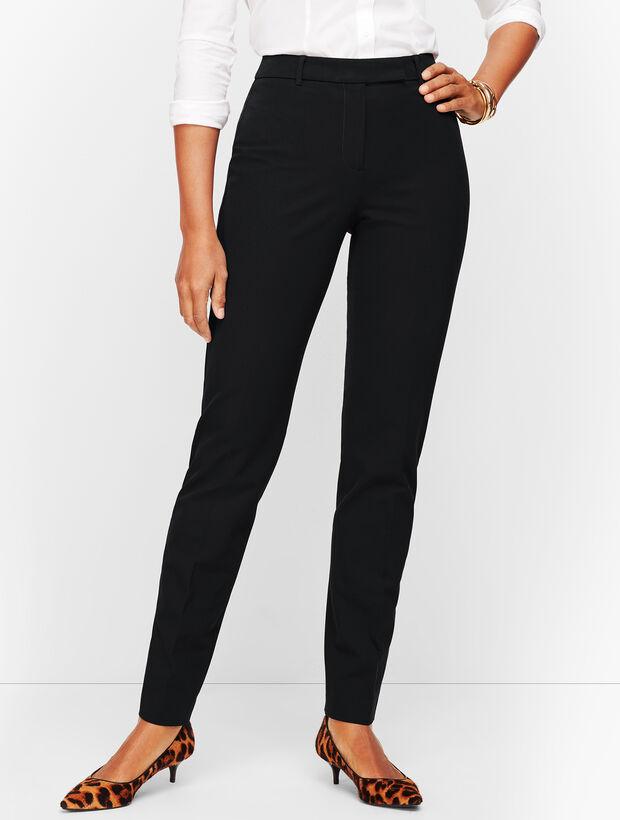 Bi-Stretch High-Waist Straight-Leg - Curvy Fit