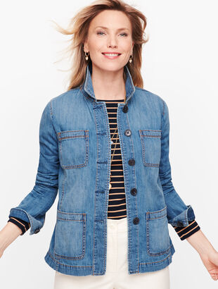 Casual Denim Jacket - Ali Wash