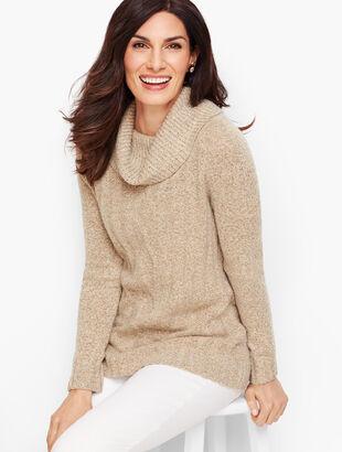 Marled Cowlneck Sweater