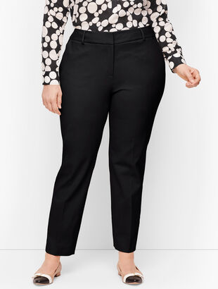 Plus Size Talbots Hampshire Ankle Pants - Traditional Hem - Curvy Fit