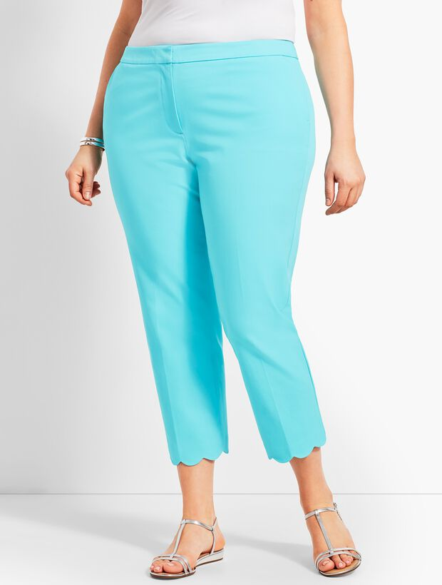 Talbots Hampshire Scallop Ankle - Curvy Fit